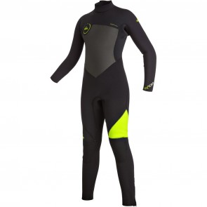 Quiksilver Youth Syncro 4/3 Back Zip Wetsuit - 2016