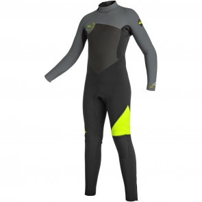 Quiksilver Youth Syncro 3/2 Back Zip Wetsuit - 2016