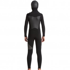 Quiksilver Youth Syncro 5/4/3 Hooded Chest Zip Wetsuit - 2018
