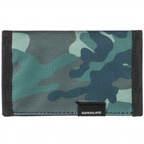 Quiksilver The Every Daily Wallet - Grape Leaf Scratch Camo
