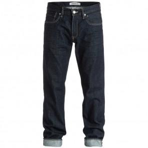 Quiksilver Sequel Straight Leg Jeans - Rinse