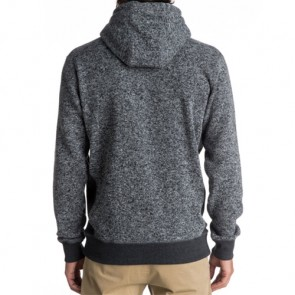 Quiksilver Keller Hoodie - Dark Grey Heather