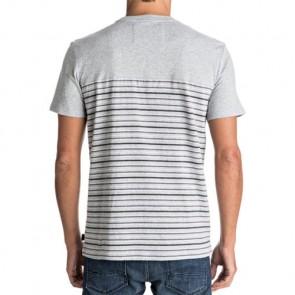 Quiksilver Full Tide Update T-Shirt - Light Grey Heather