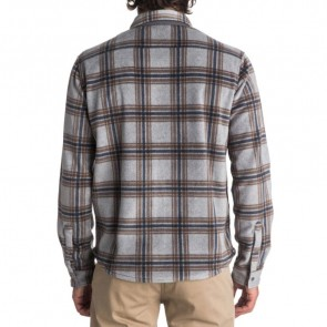 Quiksilver Surf Days Polar Fleece Long Sleeve Shirt - MGH Check