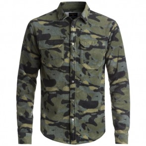 Quiksilver Surf Days Polar Fleece Long Sleeve Shirt - Camo