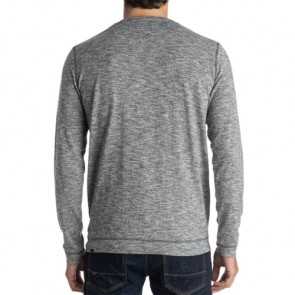 Quiksilver Lindow Crewneck Sweatshirt - Dark Grey Heather