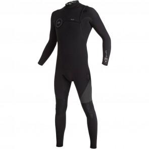 Quiksilver Highline 4/3 Zipperless Wetsuit - Black