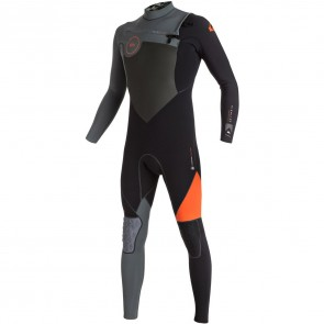 Quiksilver Highline Performance 4/3 Wetsuit - Flame