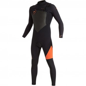 Quiksilver Syncro 3/2 Chest Zip Wetsuit - 2016