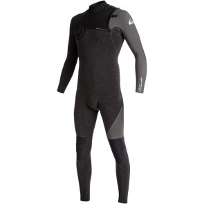 Quiksilver Highline 3/2 Zipperless Wetsuit - Heather Black/Jet Black