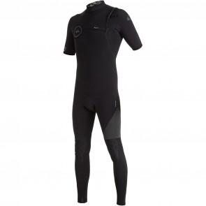 Quiksilver Highline 2/2 Zipperless Short Sleeve Wetsuit - Black