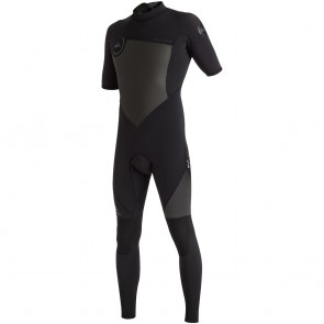 Quiksilver Syncro 2mm Short Sleeve Back Zip Wetsuit