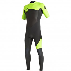 Quiksilver Syncro 2mm Short Sleeve Back Zip Wetsuit - 2016
