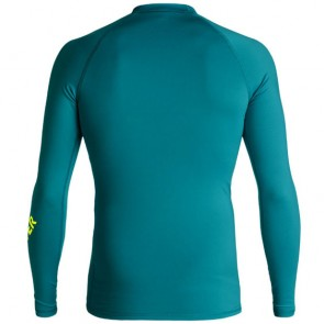 Quiksilver Wetsuits All Time Long Sleeve Rash Guard - Morocco Blue