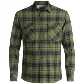 Quiksilver Fitzspeere Long Sleeve Flannel - Rifle SHD Lumber