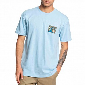Quiksilver Drive Blind T-Shirt - Airy Blue