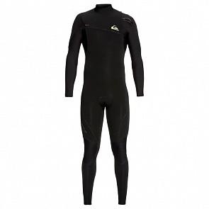 Quiksilver Highline 3/2 Zipperless Wetsuit - Black/Black