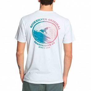 Quiksilver QS World T-Shirt - Sky Grey Heather