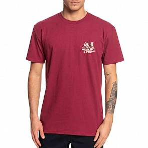 Quiksilver Rock Mode T-Shirt - Cordovan