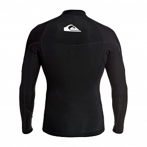 Quiksilver Syncro 1mm Long Sleeve Jacket - Black/White