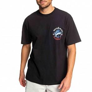Quiksilver Waterman Dude T-Shirt - Black