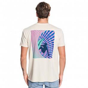 Quiksilver Window Pane T-Shirt - Brazilian Sand