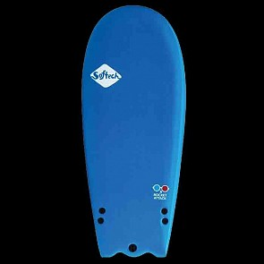 Softech Rocket Attack 4'8 Soft Surfboard - 3D -Top