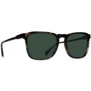 Raen Wiley Polarized Sunglasses - Brindle Tortoise/Green