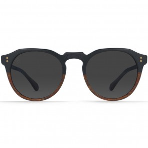 Raen Remmy Polarized Sunglasses - Burlwood/Black