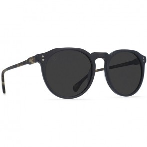Raen Remmy Polarized Sunglasses - Black/Matte Brindle Tortoise/Smoke