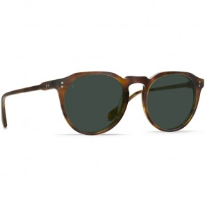 Raen Remmy Sunglasses - Split Finish Rootbeer/Green