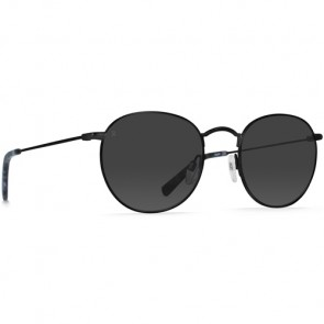 Raen Benson Sunglasses - Satin Black/Matte Ripple/Smoke
