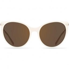 Raen Women's Birch Sunglasses - Bone/Rose Gold/Copper Mirror