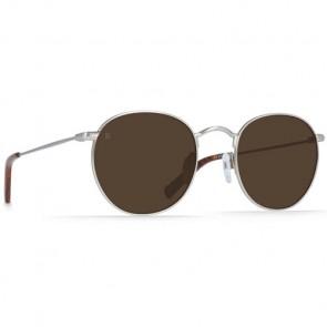 Raen Benson Sunglasses - Burlwood Silver/Brown