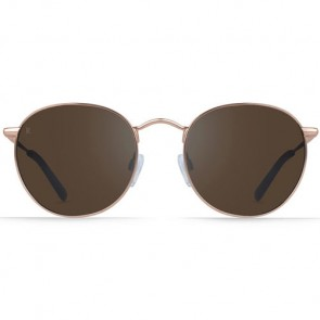 Raen Benson Sunglasses - Rose Gold Rosé/Silver Mirror