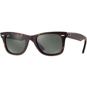 Ray-Ban Original Wayfarer Classic Sunglasses - Tortoise/Crystal Green