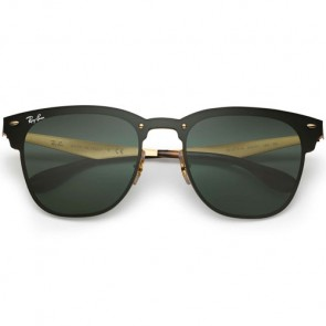 Ray-Ban Blaze Clubmaster Sunglasses - Brusched Gold/Dark Green