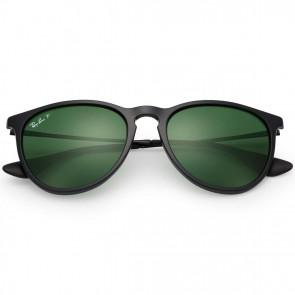 Ray-Ban Erika Polarized Sunglasses - Black/Green Classic