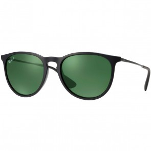 Ray-Ban Erika Polarized Sunglasses - Black/Green Classic