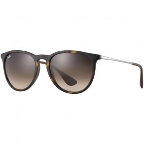 Ray-Ban Women's Erika Sunglasses - Tortoise/Gunmetal Brown Gradient