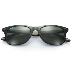 Ray-Ban Wayfarer Liteforce Sunglasses - Black/Green Classic