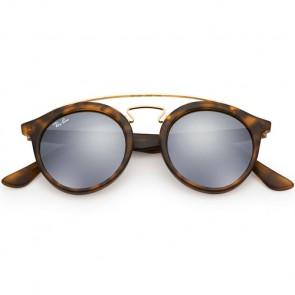 Ray-Ban 4256 Sunglasses - Matte Havana/Grey Mirror Silver
