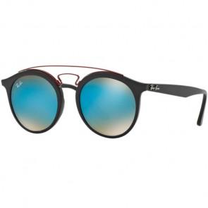 Ray-Ban RB4252 Sunglasses - Matte Black/Mirror Gradient Blue