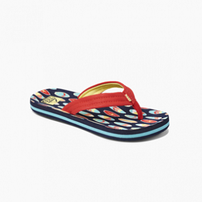Reef Youth Ahi Sandals - Red Surfer