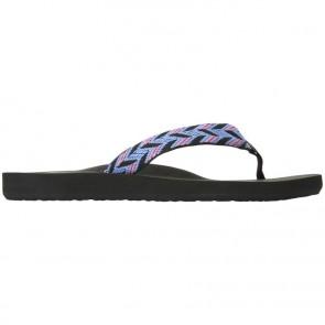 Reef Women's Mid Seas Sandals - Black/Blue