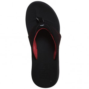 Reef Rover Sandals - Black/Red