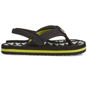 Reef Youth Ahi Glow Sandals - Black Shark Teeth