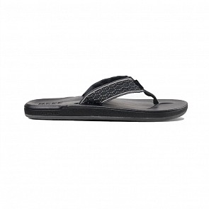 Reef Cushion Smoothy Sandals - Black