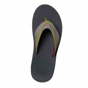 Reef Fanning Sandals - Olive/Rust