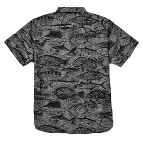 Reef Fishy Seas Short Sleeve Shirt - Black